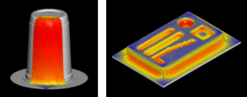 T-SIM Simulation of thermoforming